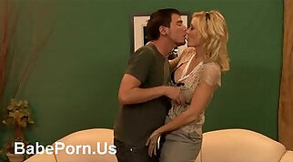blondes mother loves to fuck hard