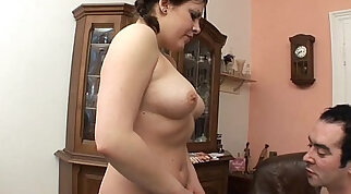Chubby Stepdaughter In Pigtails Fucked By Her Stepdad