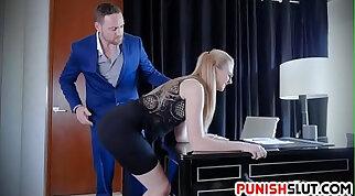Breakfast Secretary punished Straddles