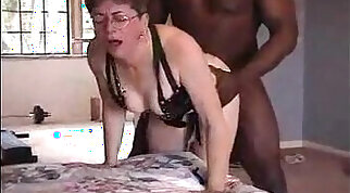 Lovely grandma from hothothot.pro gets fucked by black friend