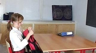 Cute girl from school in schoolgirl outfit teen cam