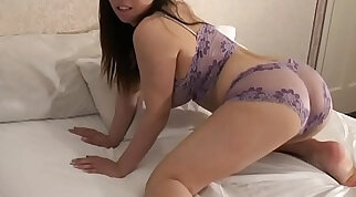Busty Asian Chick in Wicked Lingerie