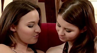 Sapphic Teen sucked and gets pounded Hard and fast