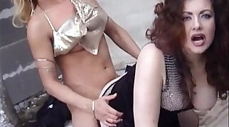 Jessica rizzo and her husband have a threesome action with a trans