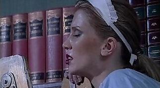 White maid fucked by a horny black servant