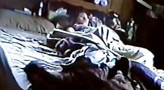 Hidden cam shows masturbation and creampie in park