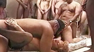 Anal Creampie Afgan fucking my first swingers party
