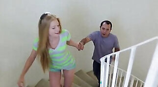 Booty Blonde Teen Chewf Fucks With Young Lover