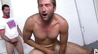 Ebony gets fucked in all holes by a group of white dudes