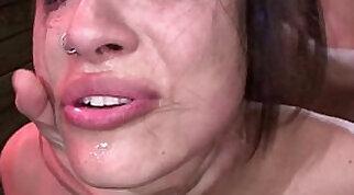 Amazing Throatfuck Cum Swallow