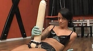 Asia - Strap-On Riding on a Hot Body