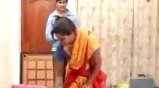 Unknown Telugu Aunty Hot Masala Compilation Seducing Bed Scene