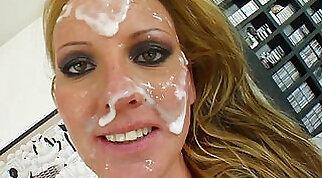 Crossdresser Cav - Deepthroat & Facial Cum