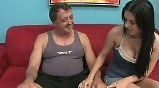 Bill Bailey wants to give daddy a handjob