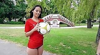 Big Booty Latina Amateur Masturbates Using JEIT