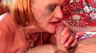 Busty mature slut getting fucked