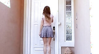 Hot Skinny Teen Babysitter Fucked After Using Clients Credit Card